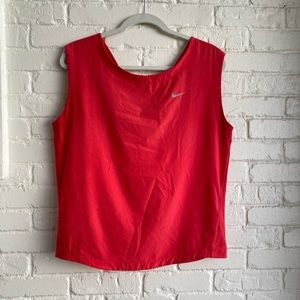 Nike Pink Athletic Top Great Cond Just Do it Large